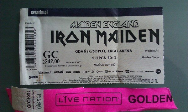 iron maiden ergo arena golden circle