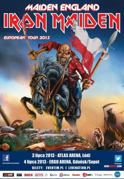 iron maiden ergo arena