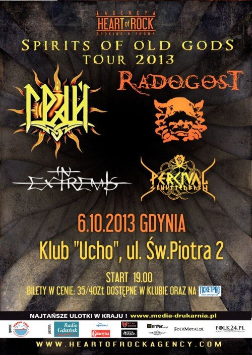 Spirits Of Old Gods Tour Ucho Gdynia