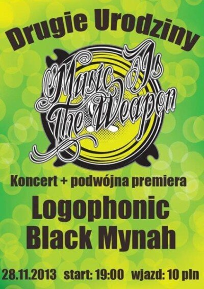 music is the weapon logophonic black mynah