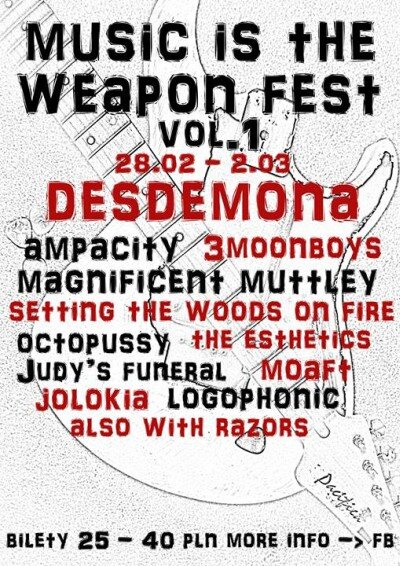 Music Is The Weapon Fest vol 1