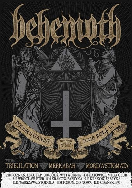behemoth polish satanist tour 2014